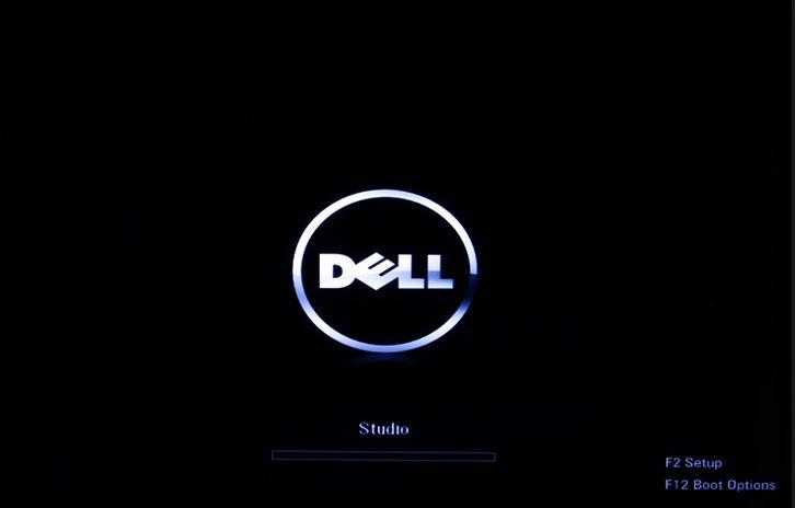DELL起動画面BIOS