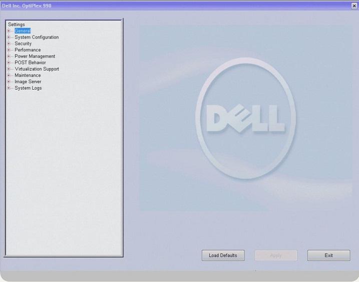 DELL_BIOS画面